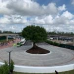 Photo Update – Epcot Entrance Construction Completed