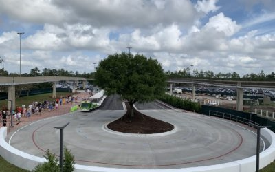 Photo Update - Epcot Entrance Construction Completed