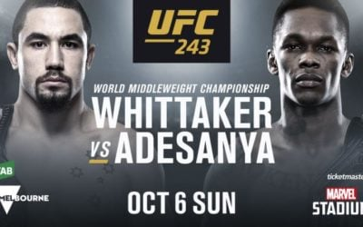 Preview - UFC 243 on ESPN+