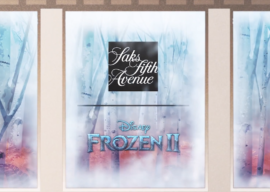 """Saks Fifth Avenue to Celebrate """"Frozen 2"""" With Window Display, Enchanted Forest Experience"""