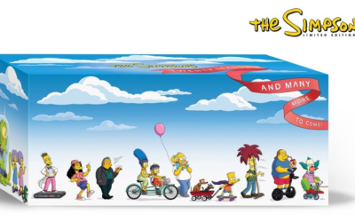 """""""The Simpsons"""" Limited Edition 20 Season DVD Box Set Coming December 3rd"""