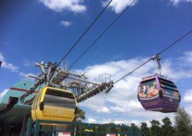 Skyliner Stuck in the Sky at Walt Disney World