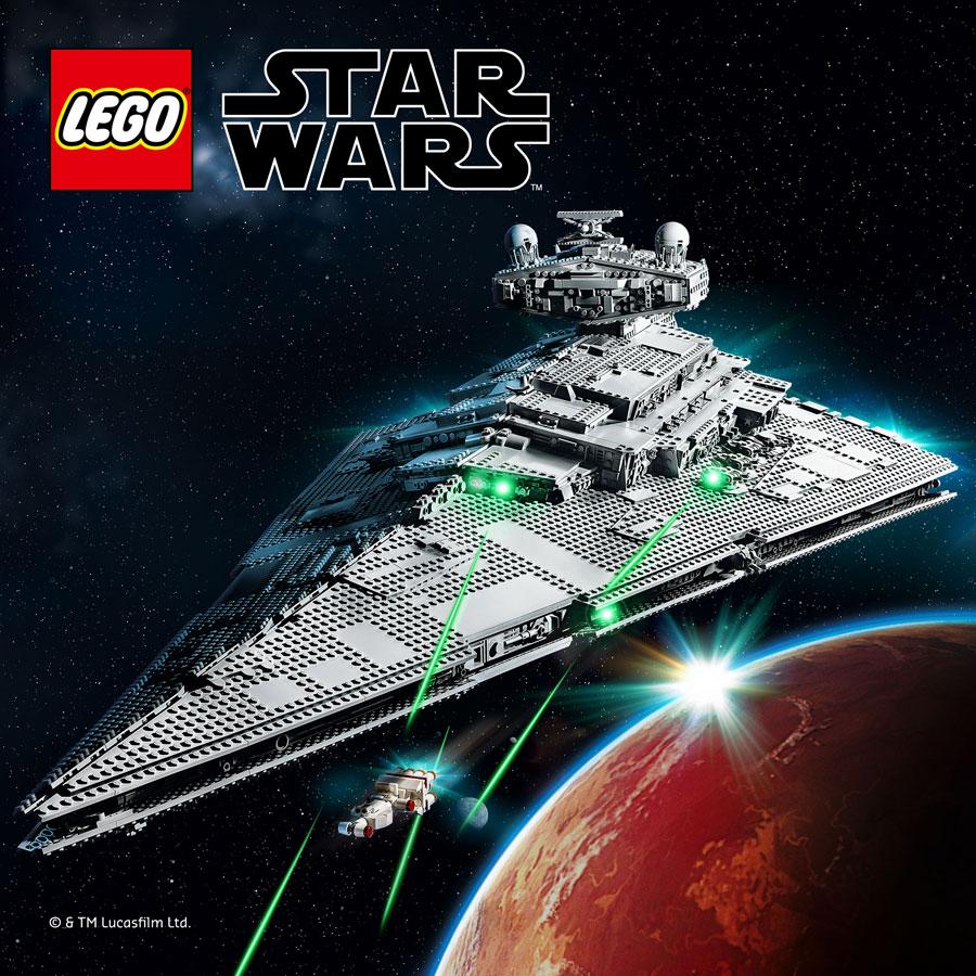 LEGO Star Wars Imperial Star Destroyer Set