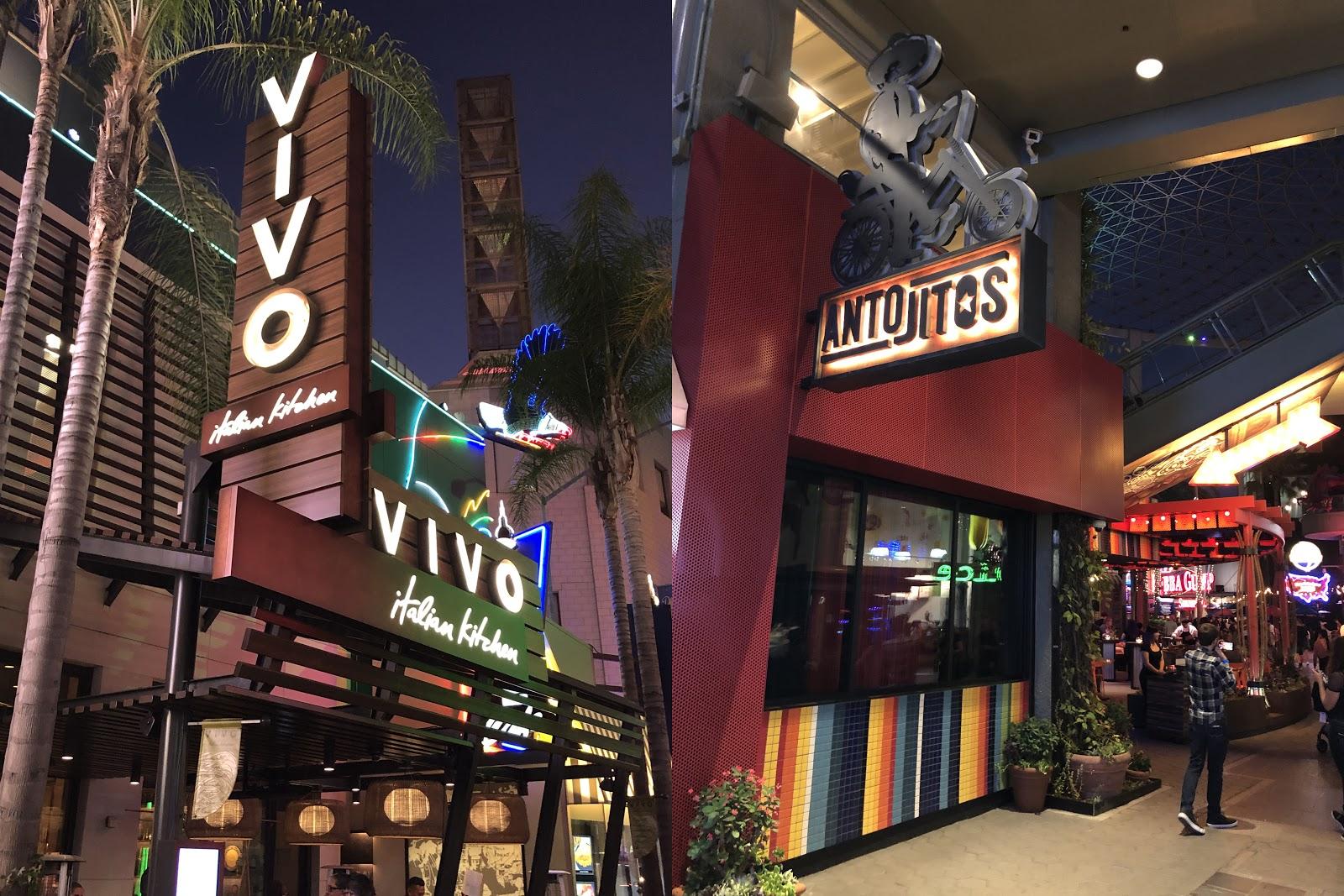 Universal Citywalk Hollywood Celebrates New Restaurants