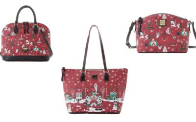 2019 Dooney & Bourke Holiday Collection Debuts at Disney Parks