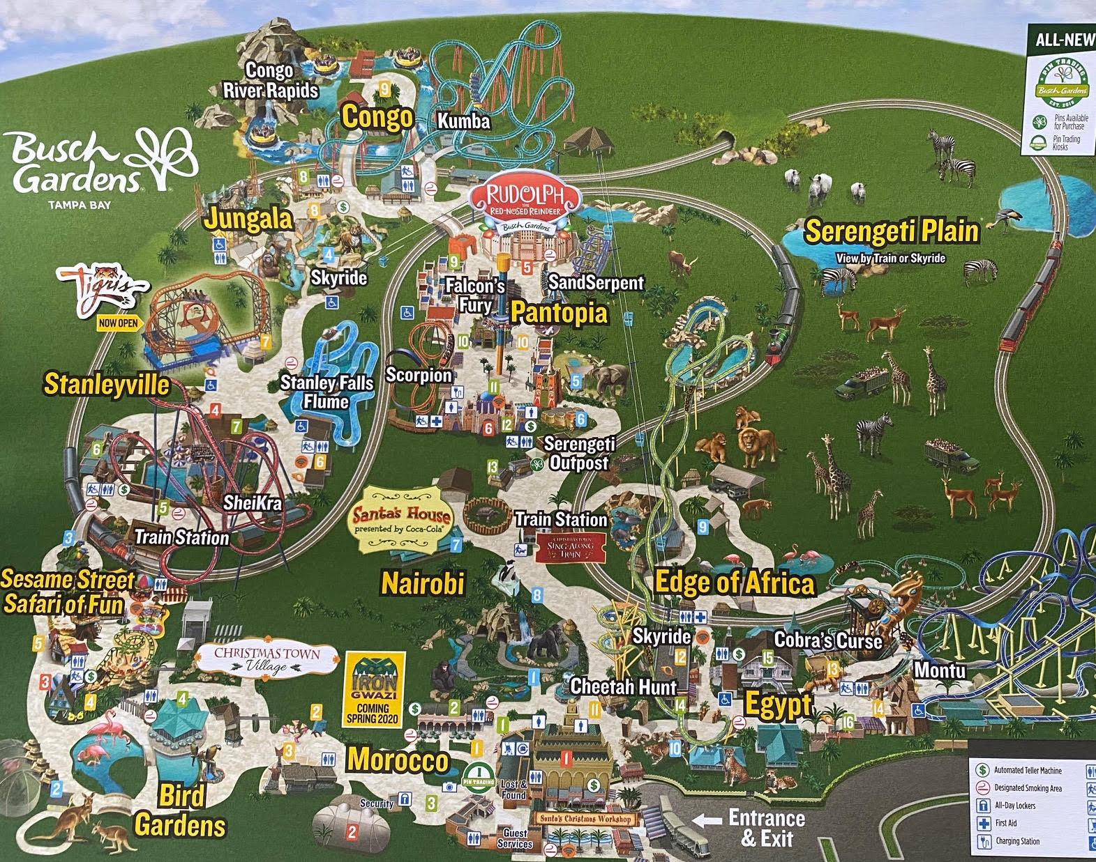 Busch Gardens Christmas Town 2020 A Visit to Christmas Town in Busch Gardens Tampa Bay