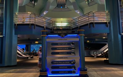 A Wave of Changes Splash into The Living Seas Pavilion at Epcot