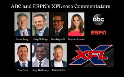 ABC, ESPN Announce Commentator Teams for XFL 2020 Season