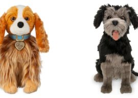 "Adorable Plush Inspired by Live-Action ""Lady and the Tramp"" Available on shopDisney"