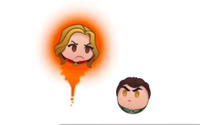 """Captain Marvel"" Becomes the Lates Subject of Disney's ""As Told By Emoji"" Series"