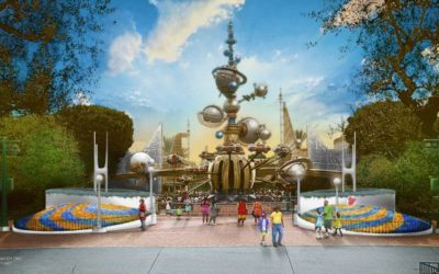 Concept Art Released for New Tomorrowland Entrance Coming to Disneyland