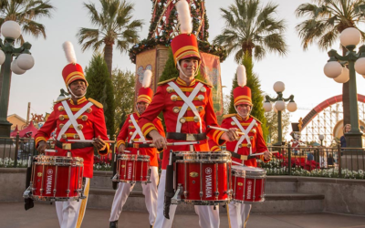 Disney California Adventure Gets Ready For Disney Festival of Holidays Starting November 8th