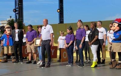 Disney Springs Celebrates Family Volunteer Day