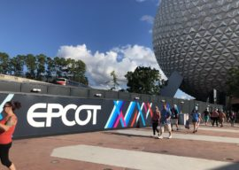 Epcot Construction Walls Photo Update