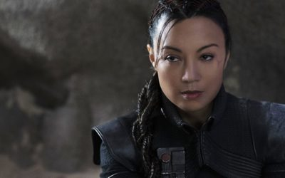 """Get Your First Look at Ming-Na Wen's Character from """"The Mandalorian"""""""