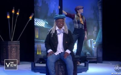 "Whoopi Goldberg, Cast of Disney On Ice Perform ""Trip A Little Light Fantastic"" on ""The View"""