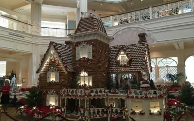 Photo Update - Holiday Decorations in Place at Walt Disney World Resort Hotels