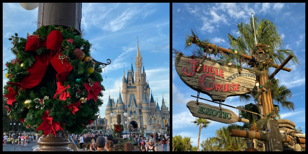Magic Kingdom Christmas Decorations, 2019 Jingle Cruise