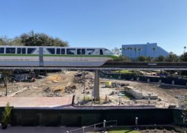 Progress Continues on Epcot Future World Construction