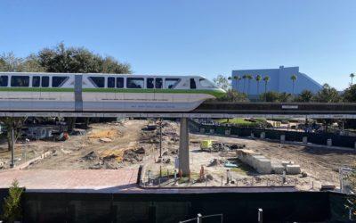 Progress Continues on Epcot Future World Construction