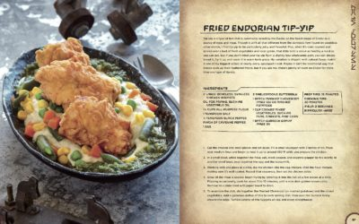 "Book Review: ""Star Wars: Galaxy's Edge - The Official Black Spire Outpost Cookbook"""