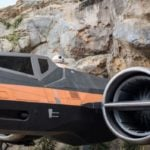Take a Look at Poe's X-Wing from Star Wars: Rise of the Resistance at Disney's Hollywood Studios