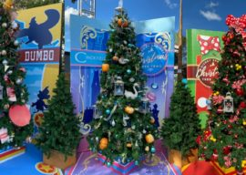 Take A Stroll Along the Disney Springs Christmas Tree Trail