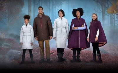 """The Cold Never Bothered Me Anyway: """"Frozen 2""""-Inspired Outerwear from Columbia Sportswear"""