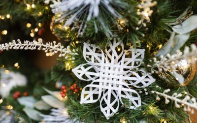 The Holiday Snowflakes at Disney's Animal Kingdom Feature More Magic Than Meets the Eye