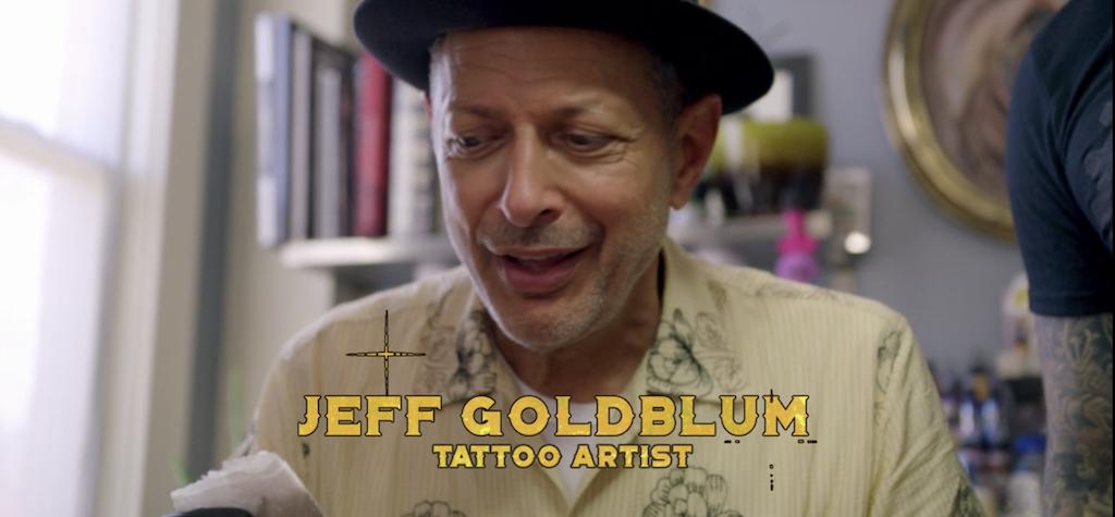 does jeff goldblum have a tattoo