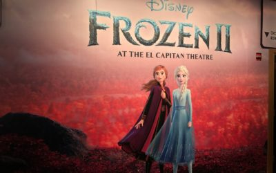 "Video: Disney's ""Frozen 2"" Opens at El Capitan Theatre with Anna and Elsa Live on Stage Before Each Show"