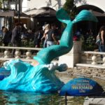 "Video / Photos: ""The Little Mermaid LIVE"" Gets Immersive Promotional Displays at The Grove"