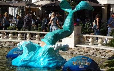 """Video / Photos: """"The Little Mermaid LIVE"""" Gets Immersive Promotional Displays at The Grove"""