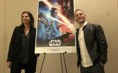 """Interview: """"Star Wars: The Rise of Skywalker"""" Co-Writer Chris Terrio and Producer Michelle Rejwan"""