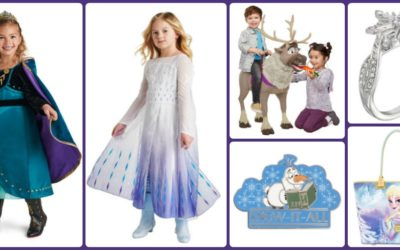 "A Flurry of New ""Frozen 2"" Merchandise Now On shopDisney"