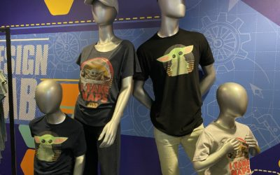 Customizable, Print on Demand Baby Yoda Shirts Come to Magic Kingdom