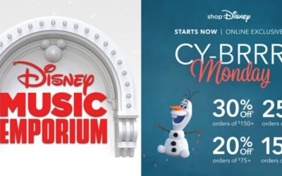 Cyber Monday Deals Continue with Discounts on Disney Entertainment and Merchandise