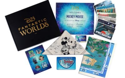 D23 Announces Their 2020 Gold Member Gift Celebrating Fantastic Worlds