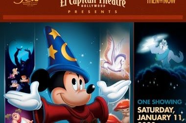 "Disney Archives 50th Anniversary Celebration to Present ""Fantasia"" at the El Capitan Theatre"