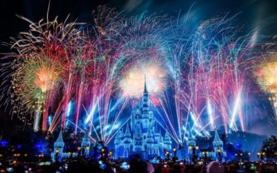 """Disney Parks to Live Stream """"Fantasy in the Sky Fireworks"""" on New Year's Eve"""