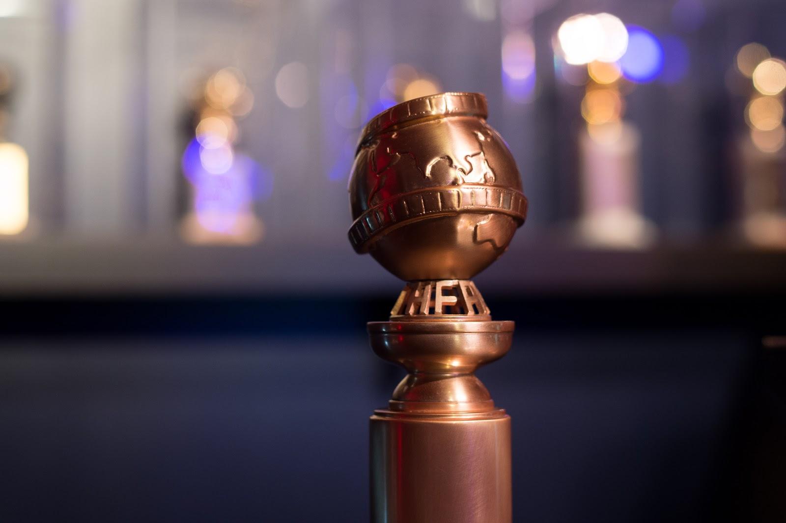 New Golden Globe statue, 2019 Via HFPA