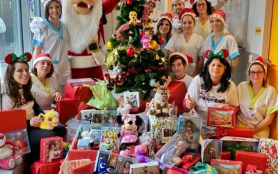 Disney VoluntEars Distribute More Than 250 Gifts to Jossigny Hospital in France