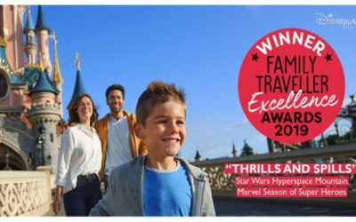 Disneyland Paris Receives Family Traveller Excellence Awards for Several Attractions