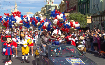 Enter to Win a Trip to Walt Disney World to Meet a Super Bowl Champion in New NFL 100 Contest