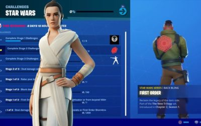 """""""Fortnite"""" Launches """"Star Wars: The Rise of Skywalker"""" Campaign"""