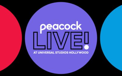Interactive Two-Day Fan Experience, Peacock Live! Coming to Universal Studios Hollywood