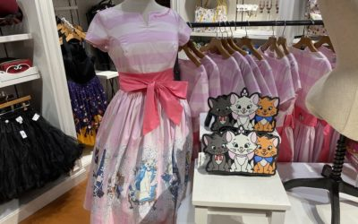 """New """"The Aristocats"""" Dress, 2020 Merchandise Now at Disney Springs"""
