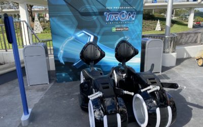 Photos - TRON Lightcycle / Run Construction Update and Ride Vehicles