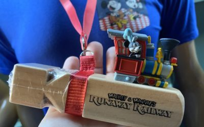 Sneak Peek at Mickey & Minnie's Runaway Railway Merchandise