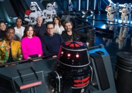 """Star Wars: The Rise of Skywalker"" Cast Previews Star Wars: Rise of the Resistance in Disneyland"